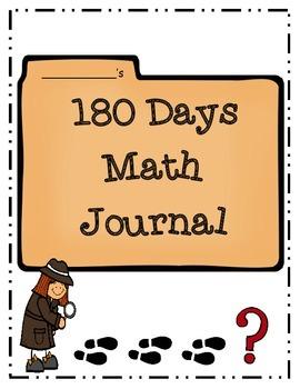 180 Day Math Journal