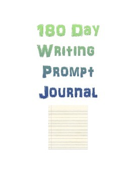 180 Day Writing Journal