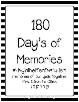 180 Days Of Memories (day in the life) *Editable*