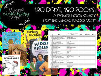 180 Days, 180 Books - Picture book a day