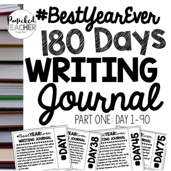 #BestYearEVER Writing Journal (1-120) Digital and Paper!