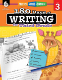 180 Days Of Writing For Third Grade (Digital)