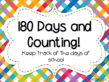 180 Days and Counting!
