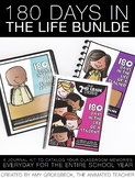180 Days in the Life BUNDLE – EDITABLE Memory a Day Journal Kit