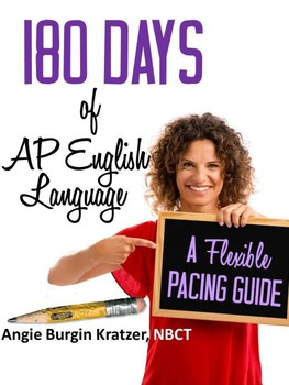 180 Days of AP English Language {A Flexible Pacing Guide, PDF Only}