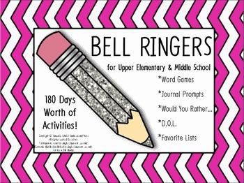 180 Days of Bell Ringers