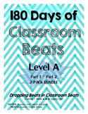 180 Days of Classroom Beats - Level A - 2 PACK BUNDLE - PA