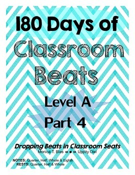 180 Days of Classroom Beats - Level A - PART 4