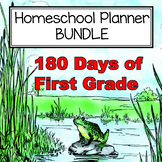 180 Days of First Grade Planning Bundle