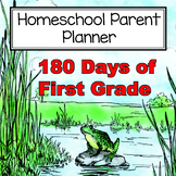 180 Days of First Grade Parent Planner