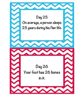 180 Days of Fun Facts
