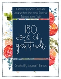 180 Days of Gratitude- A Gratitude Journal for Teachers