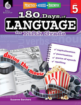 180 Days of Language for Fifth Grade (eBook)