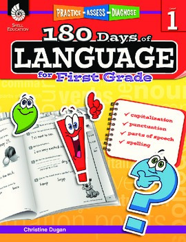 180 Days of Language for First Grade (eBook)