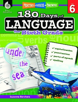 180 Days of Language for Sixth Grade (eBook)