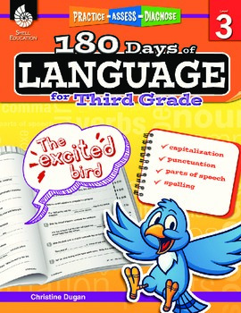 180 Days of Language for Third Grade (eBook)