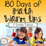 180 Days of Math Warm Ups (1st Grade Edition)