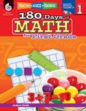 180 Days of Math for First Grade (eBook)