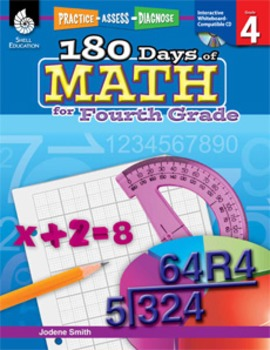 180 Days of Math for Fourth Grade (eBook)