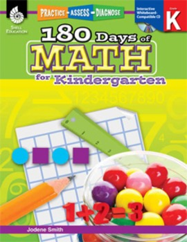 180 Days of Math for Kindergarten (eBook)