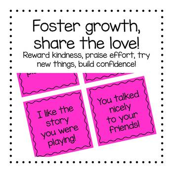 180 Days of Positive Affirmations and Specfic Praise (print on Post-it notes)