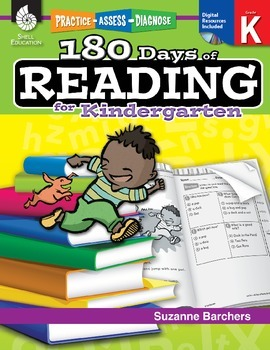 180 Days of Reading for Kindergarten (eBook)