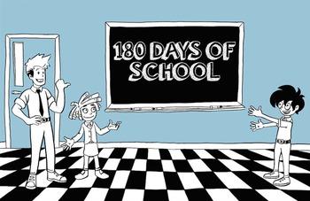 180 Days of School Desktop