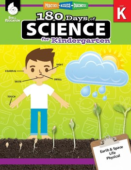 180 Days of Science for Kindergarten (eBook)