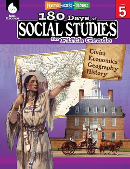 180 Days of Social Studies for Fifth Grade (eBook)