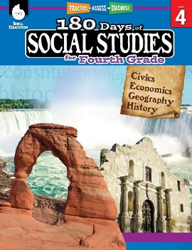 180 Days of Social Studies for Fourth Grade (eBook)
