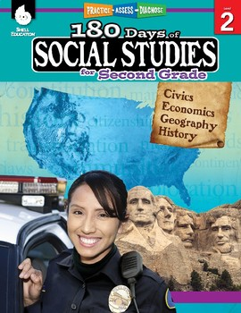 180 Days of Social Studies for Second Grade (eBook)