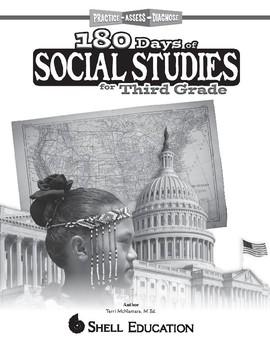 180 Days of Social Studies for Third Grade (eBook)