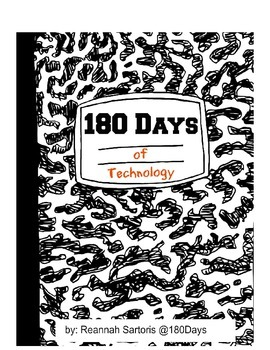 180 Days of Technology Resources + FREE lesson plan