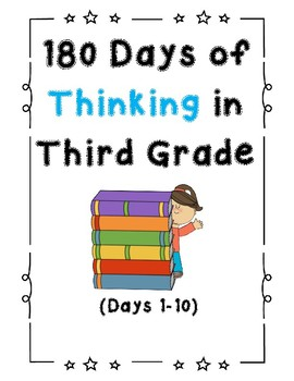 180 Days of Thinking In Grade 3 (Days 1-10)