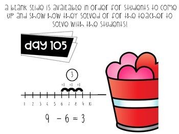 180 Days of Word Problems PAPERLESS Version!