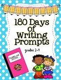 180 Days of Writing Prompts