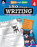 180 Days of Writing for Fourth Grade (Physical Book)