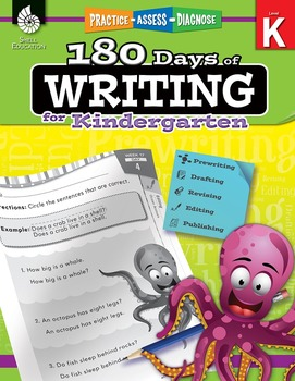 180 Days of Writing for Kindergarten (Physical Book)