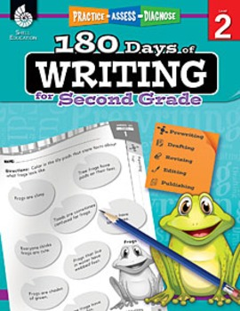 180 Days of Writing for Second Grade (Physical Book)
