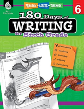 180 Days of Writing for Sixth Grade (Physical Book)