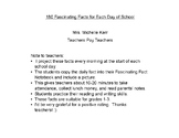 180 Facts for Each Day of School!