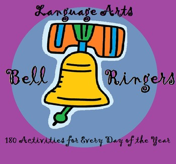 180 Language Arts Bell-Ringers -- Writing, Critical Thinki