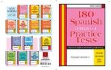 180 Practice Spanish Tests - Level 1-4