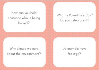 180 Question Cards: Conversation Starters Task Cards (British English)
