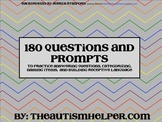 180 Questions and Prompts to Build Expressive & Receptive Language