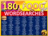 180 x Food Nutrition Health Wordsearches Keyword Starters