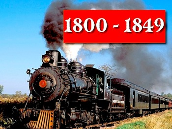 """1800-1849 Sing-Along mp4 Video/Movie from """"History Songs"""""""