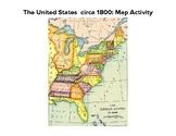 1800 United States Map Activity