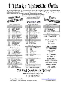 1801-5 Keeping a Budget (Grades 3-5 Economics)