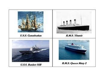 1812 1862 1912 2012 A Brief Ship Comparison
